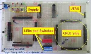 Gambar 5. PCB bagian atas