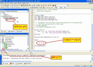 Gambar 13. Disain VHDL