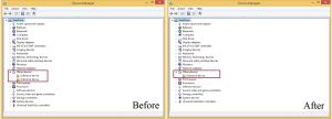 Meng-instal HDD Protector menghilangkan satu lagi daftar Unknown Device.